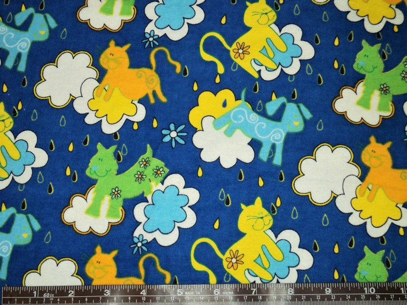 Winter Clothes Kids Pajama Pants Toddler and Baby Christmas Gift Birthday Raining Cats and Dogs Pj Pants for Boy Flannel Bottoms Girl