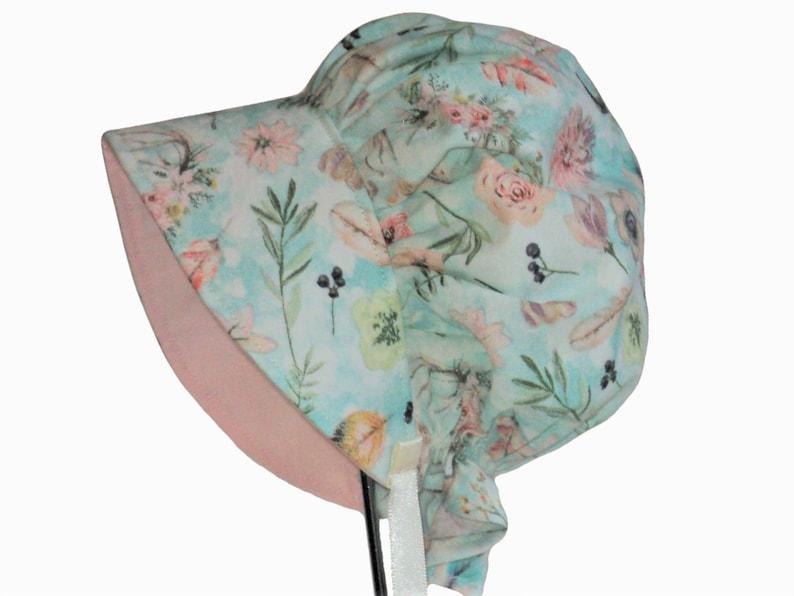 LADIES OLD FASHION PRAIRIE SUN BONNET ~HANDMADE~pink//blue pink white NEW