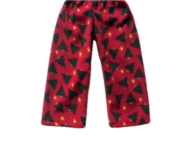 Childrens Christmas Pajama Pants Xmas Trees Boy Or Girl Holiday Pajama Pants Bottoms Kids Fleece Pj Pants Toddler Baby Pj Pants