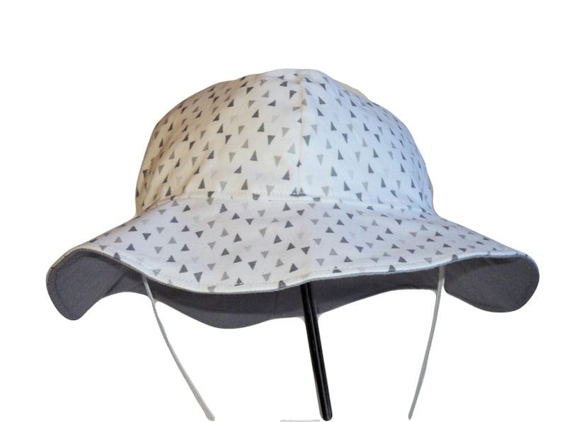 b7d6400a54ac1 Baby Sun Hat Toddler Hat Kids Summer Hat Cotton Floppy Hat
