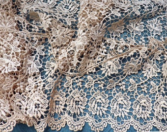 """Novelty 1//4/"""" FRENCH VINTAGE Jacquard TRIM 1yd Diamond Doll Petite Made in France"""