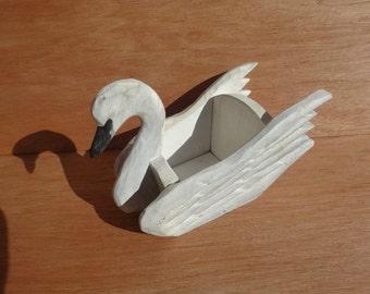 Small Swan Planter