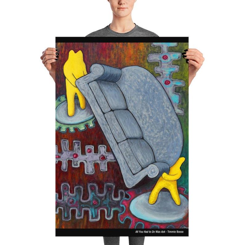 Museum Quality Enhanced Matte Poster Print 24 x 36 image 0
