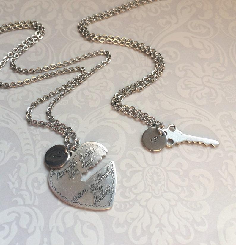 86d6d632f5 Boyfriend Girlfriend Jewelry-Couples Necklace Jewelry   Etsy