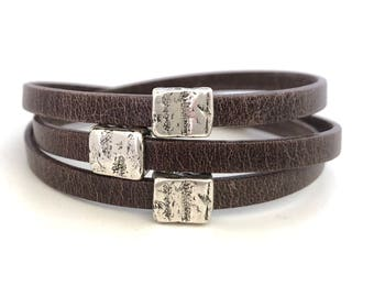 Leather Wrap Bracelet for Women - Bead Wrap Bracelet - Boho Bracelet - Jewelry for Women - Layer Bracelet - Women Accessories - Gift for Her