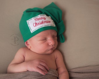 36dc4d100 first Christmas outfit - baby hat - newborn Christmas - 1st Christmas hat