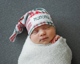 69bb3c657 baby Santa hat - 1st Christmas hat - my first Christmas outfit - baby hat -  newborn Christmas
