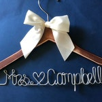 Wedding Hanger, Bridal Robes, Bridesmaid Proposal, Bachelorette Party, Personalized Gift, Mom Gift, Flower Girl Dress, Wedding Sign, Sister