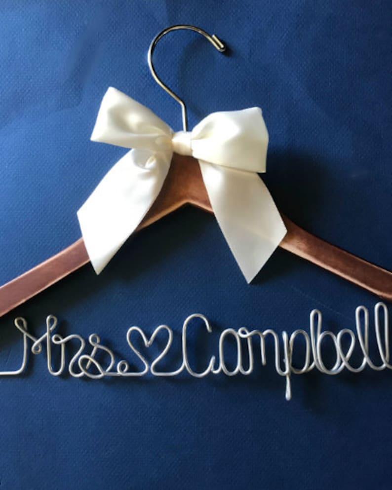 Wedding Hanger Bridal Robes Bridesmaid Proposal image 0