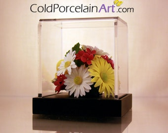 Daisies - Cold Porcelain Art - Made to Order