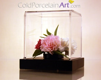 Carnations - Cold Porcelain Art - Made to Order