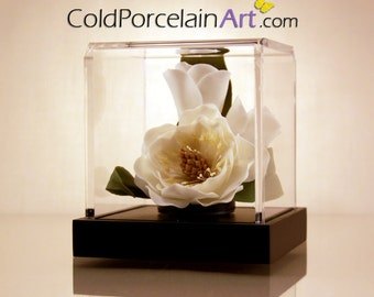 Magnolia - ColdPorcelainArt - Made to Order - Featured on ETSYLUSH