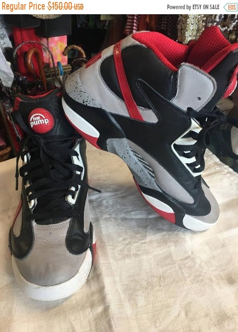 fefbec61cfc1 30% Off Spring Sale Reebok The Pump Shaq shoes red black white