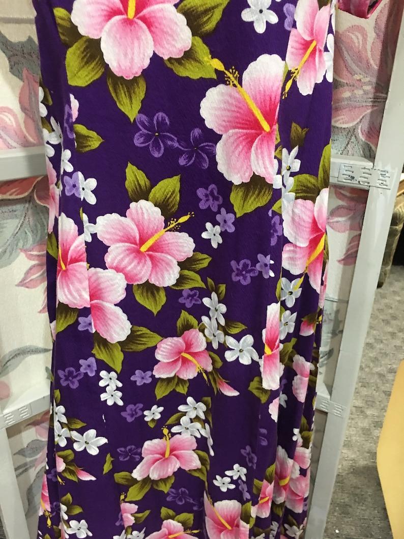 black Friday  sale 1950 vintage dress Muumuu floral large Xlarge
