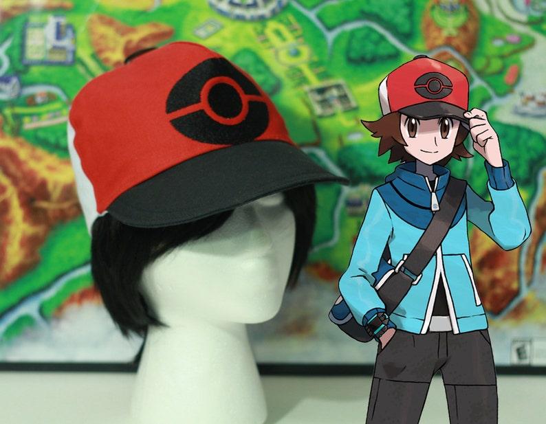 Black Hilbert Hat for Pokemon Cosplay  6ffe6033d1d6