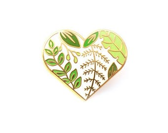 Love Trees and Leaves enamel pin