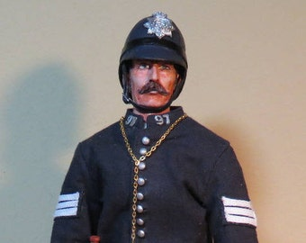 Custom 1860 Victorian English Bobby (Made to Order) 1/6 scale