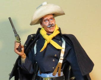 Deluxe Custom Captain Nathan Brittles Cavalry by Old Days of Yore (Made to Order) 1/6 scale Cowboy