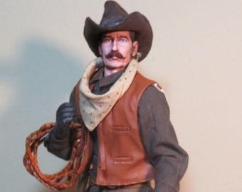 Custom Drover Charlie Howard 1/6 scale cowboy figure