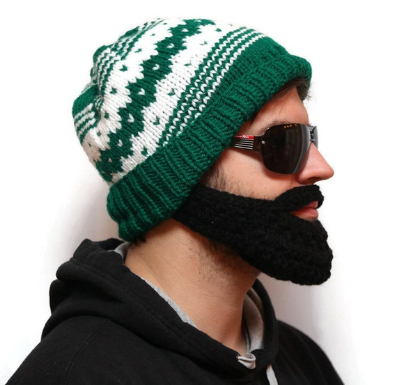 37ec164ff15 The bearded beanie hats and beards beard with hat knit hat