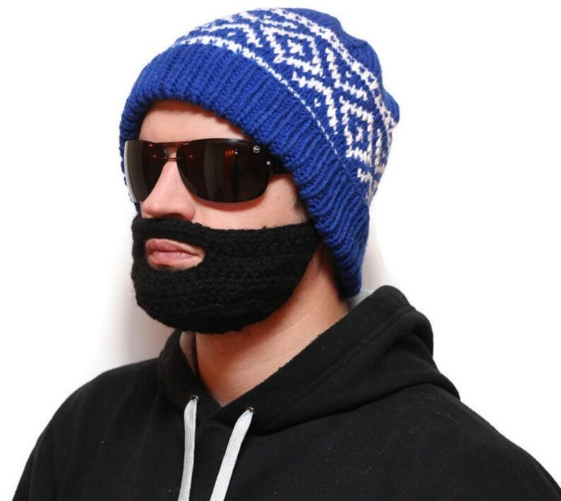 4b7a7e5c898 Outdoor adult winter hat Beard Hat Outdoor Sportswear