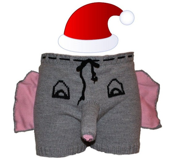 Christmas gift for him, Ugly Christmas gift, Men shorts, Men underwear,  Adult costume, Party clothes, Ugly christmas sweater