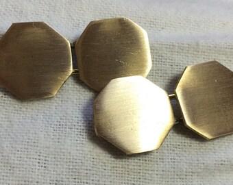 Brass Sleeve Buttons, 18th century