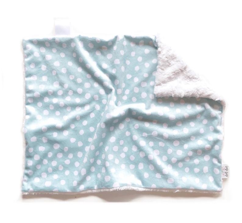 Ready to Ship  LOVEY  Minty Dots  Baby boy girl unisex image 0
