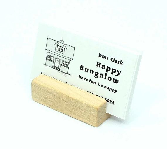 Holz Visitenkarten Halter Ahorn Zusätzliche Kapazität Visitenkarten Etui Für Schreibtisch Visitenkarte Stand Foto Halter Visitenkarten Etui