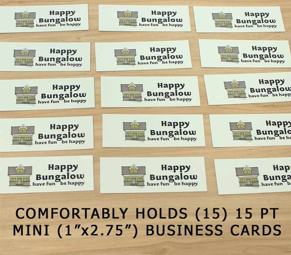 Mini Carte De Visite