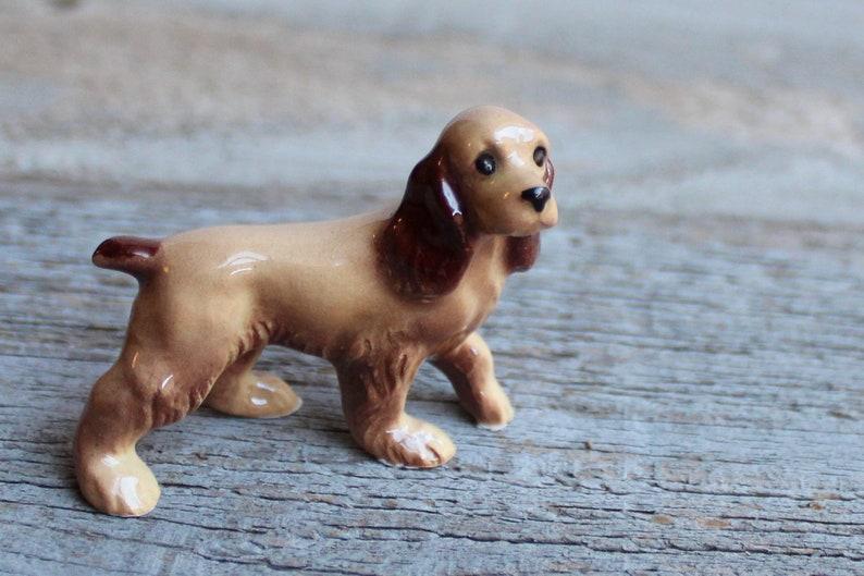 Alert Red Dachshund Miniature Dog Figurine Made in USA by Hagen-Renaker