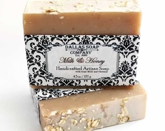 Milk and Honey Goat Milk Soap with Oatmeal