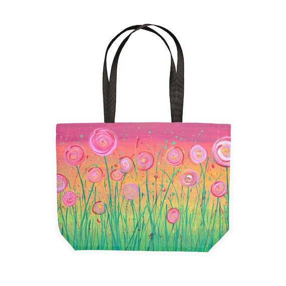 Abstract Flowers Gym Bag