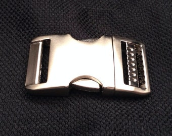 """1"""" Metal Buckle Upgrade for Paracord Collars ONLY"""