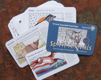 Spirit Animal Oracle Card Deck