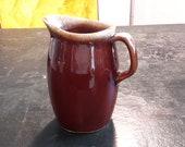 Hull Pottery Brown Drip Pottery Walnut Ridge Pitcher