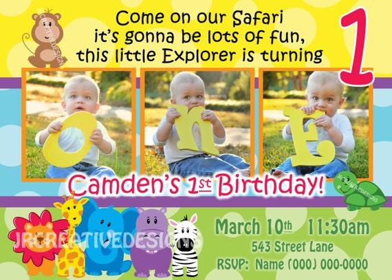 safari friends invite safari invite safari invitation jungle invite