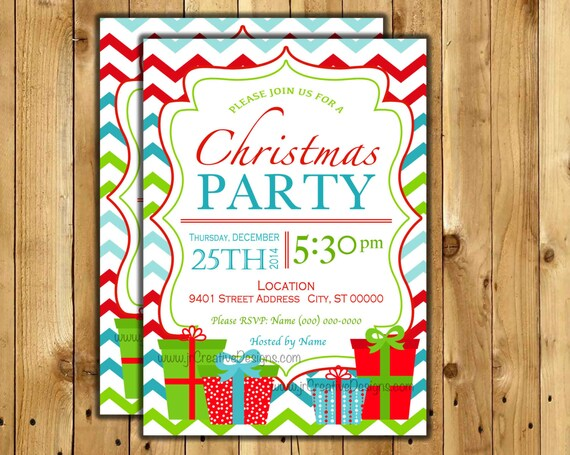 christmas party invitation christmas gift exchange white elephant