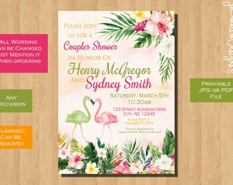 couples shower invitation couples wedding shower invitation couples bridal shower invitation coed bridal shower invitation printable invite