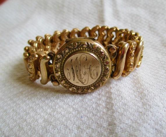 Vintage Sweetheart Locket Bracelet Expansion Photo