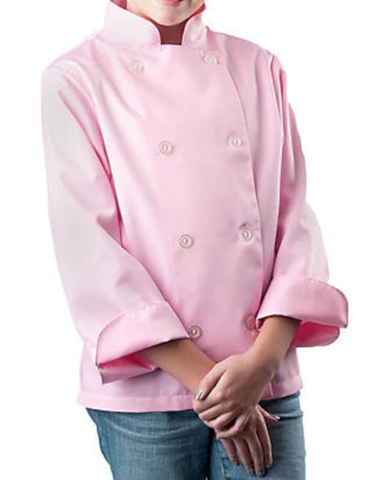 personalized apron sets; custom chef coats; long sleeved chef coats Children/'s Personalized Chef Coat; children/'s chef ware; kitchen aprons