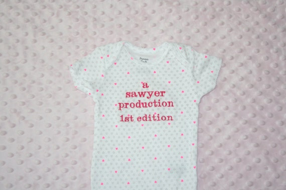 PERSONALIZED Baby One Piece Bodysuit Baby Clothing Infant ...