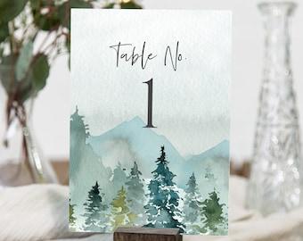 Table No & Escort Cards