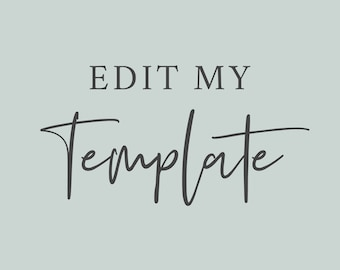 Edit My Template, Invite Editing, Extra Charges, Additional Charges, Extra Fees, Additional Fees