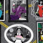 """Clue Character portraits poster (17X11"""")"""