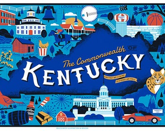 "Commonwealth of Kentucky Poster- 11X17"""
