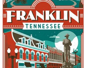 Franklin travel poster