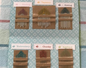 Lori Holt's Nifty Needles Set - 70 Assorted Needles