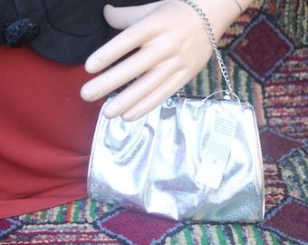 Vintage Silver Clutch/Handbag
