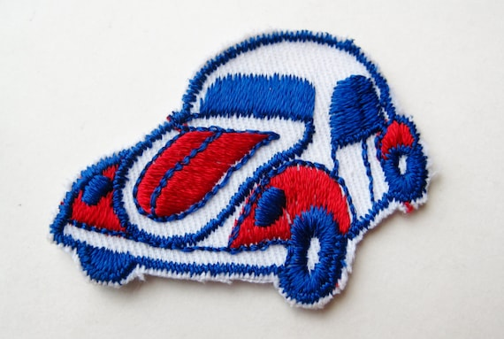 Auto PONTIAC FIREBIRD Embroidered Cloth Advertising Patch 01N Vtg Muscle Car